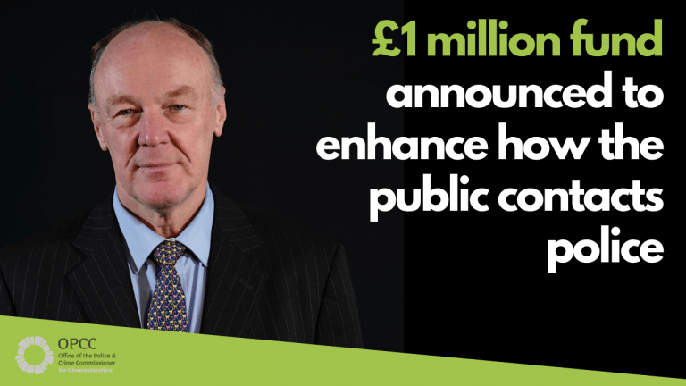 £1 million fund announced to enhance public contact with police