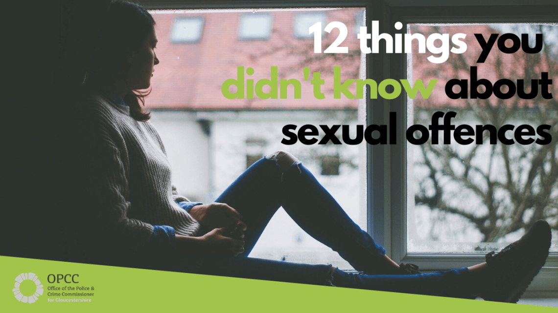 12 things you didn't know about sexual offences