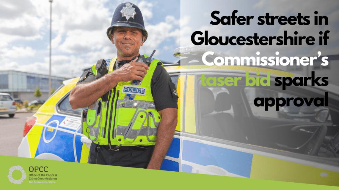 Taser bid for Gloucestershire
