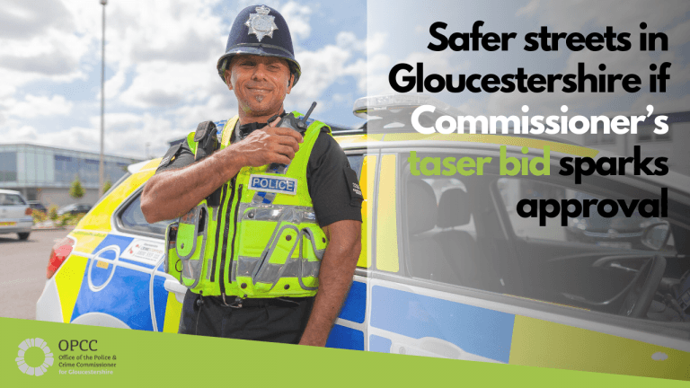 Taser bid for Gloucestershire