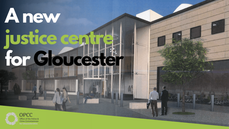 New justice centre for Gloucester