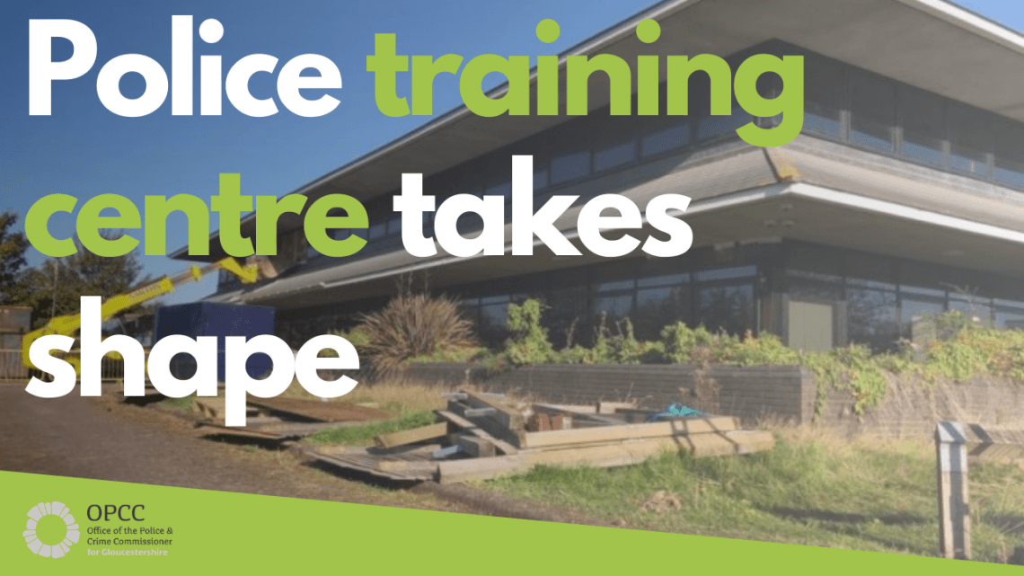 Police Training Centre takes shape
