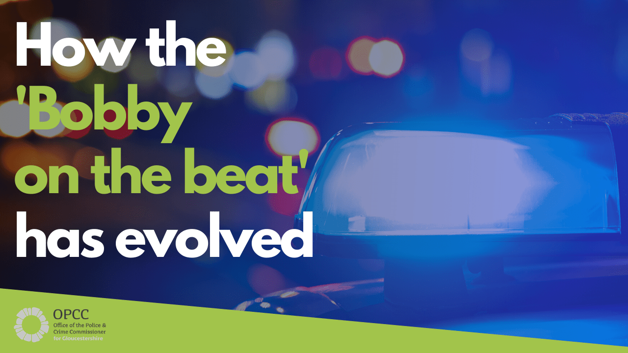 How the Bobby on the Beat has evolved