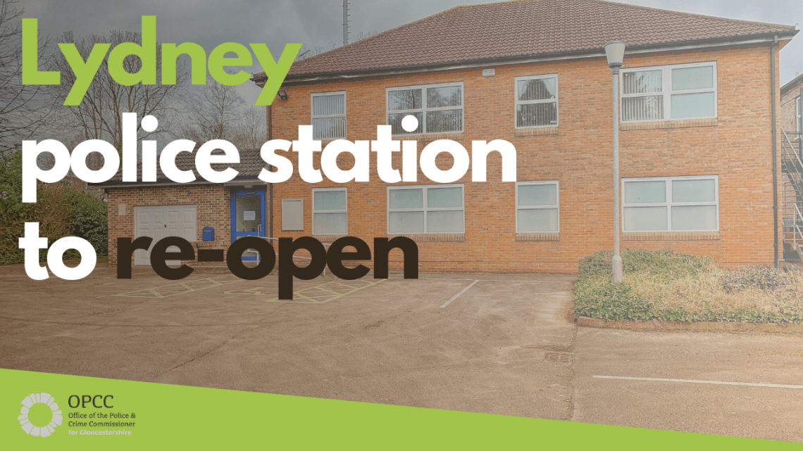 Lydney police station to re-open
