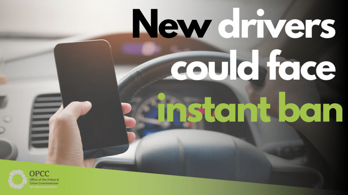 A new mobile phone campaign has launched in Gloucestershire