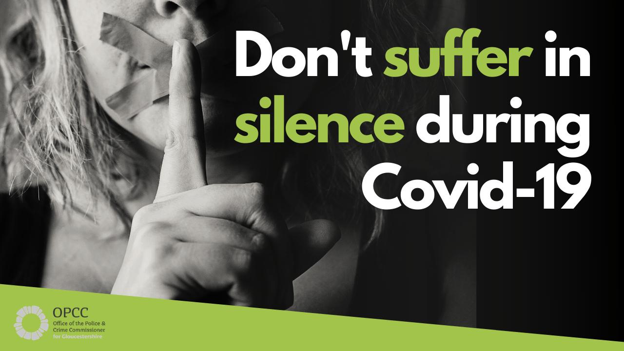 Domestic Abuse Gloucestershire advice lockdown