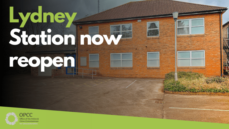 Lydney station reopens