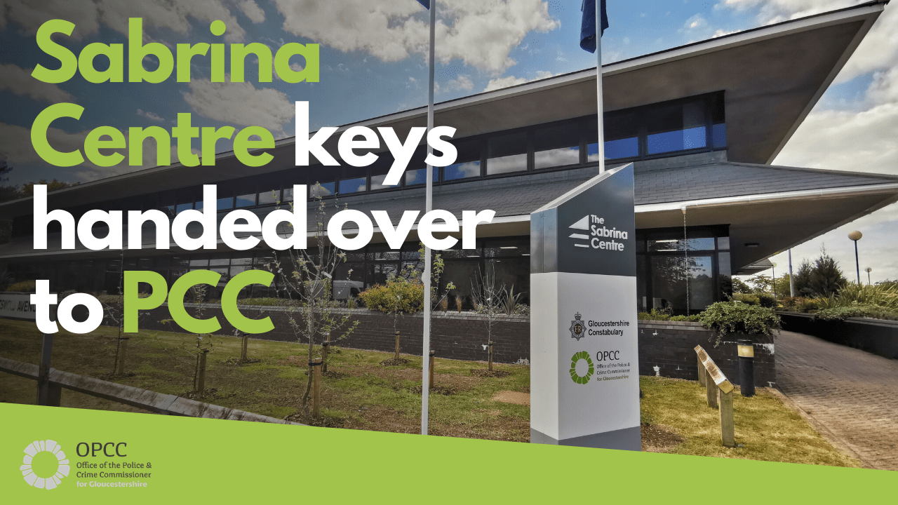 The Sabrina Centre keys handed over to PCC