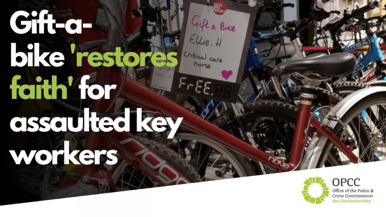 Gift a Bike campaign