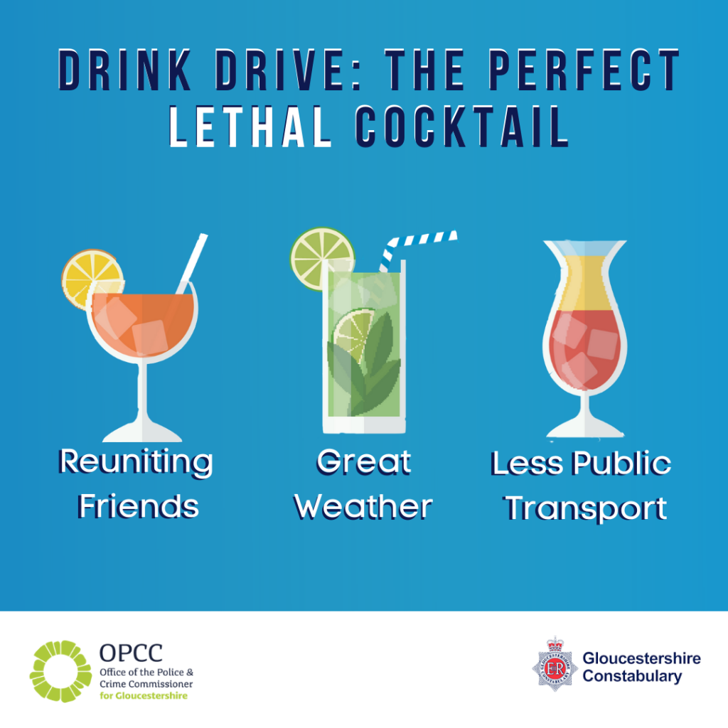 Blue Drink Drive image