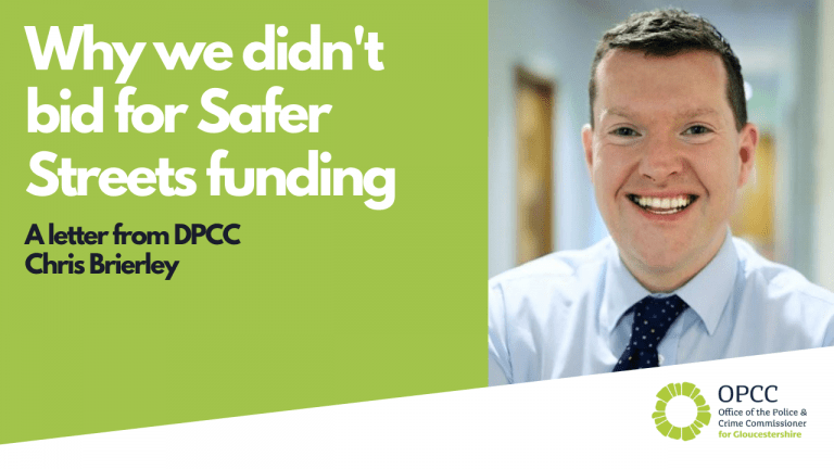 letter from DPCC Chris Brierley