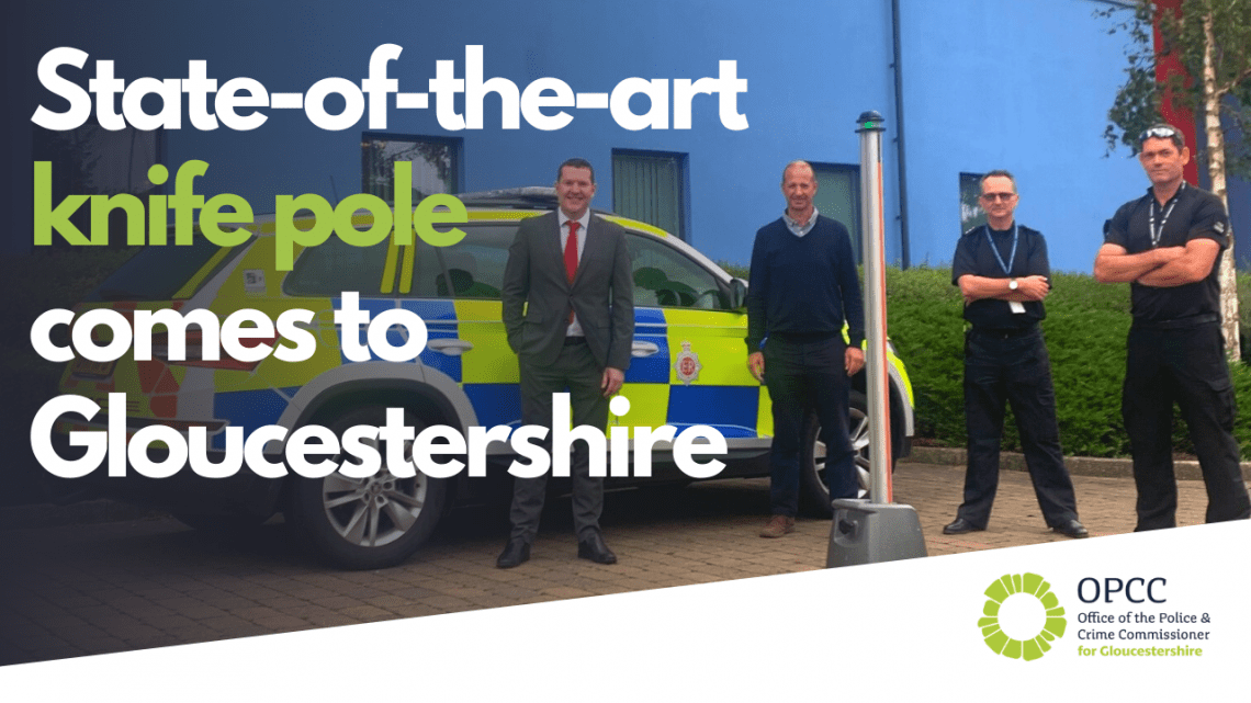 Knife Pole for Gloucestershire Constabulary