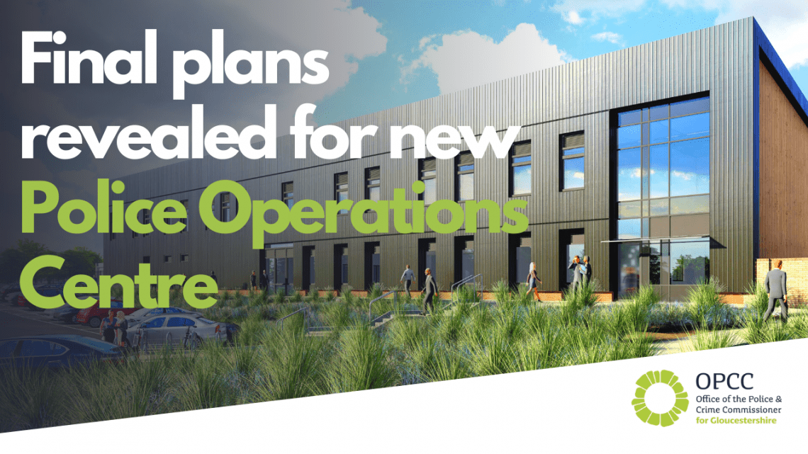 Final plans revealed for new police operations centre