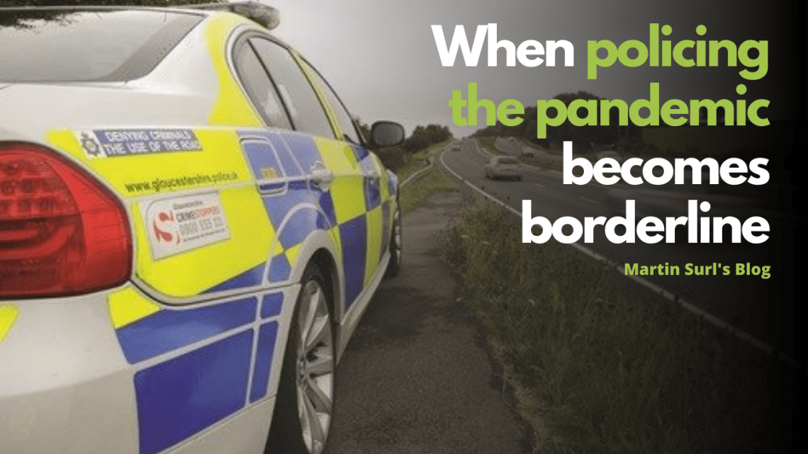 Martin Surl Blog on policing border