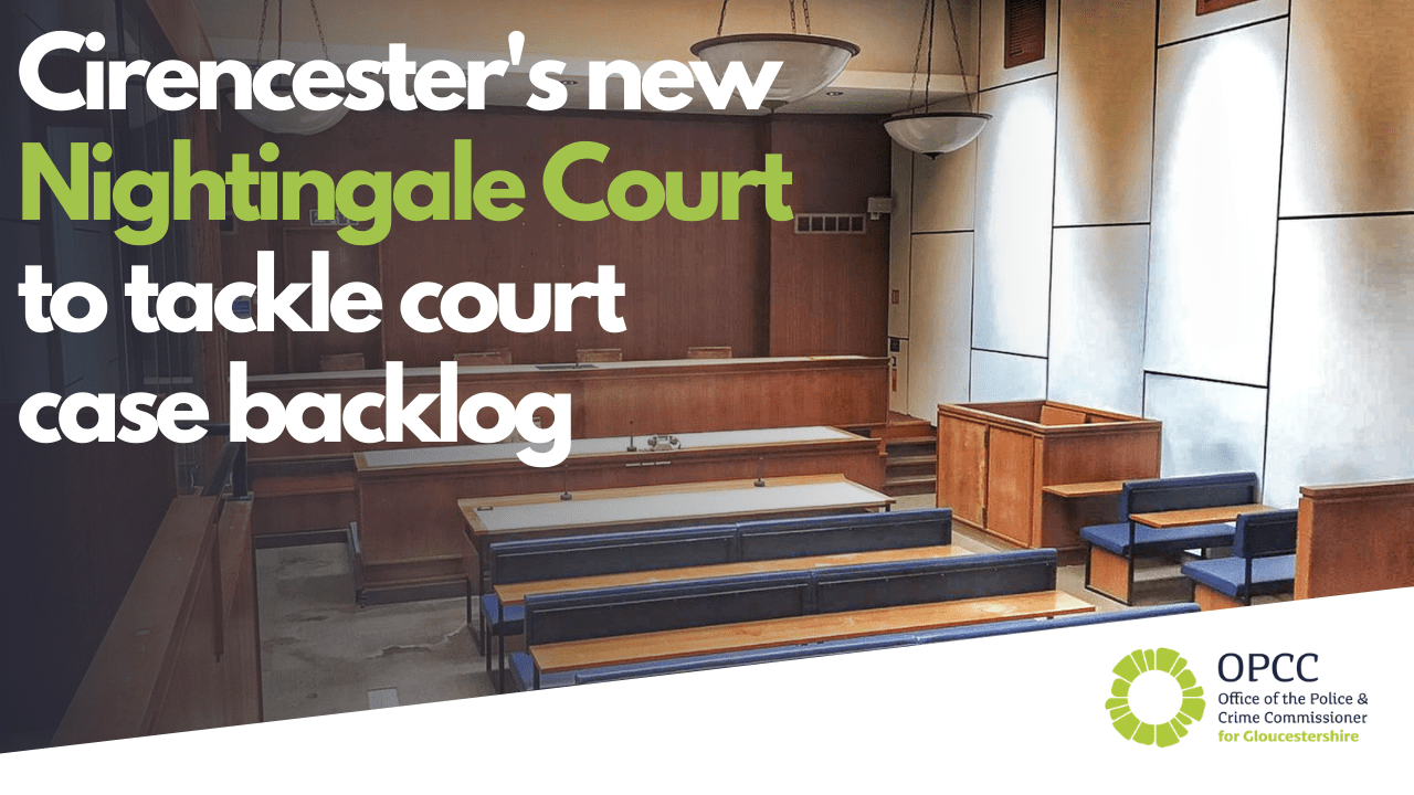 Cirencester's new Nightingale Court to tackle court backlog