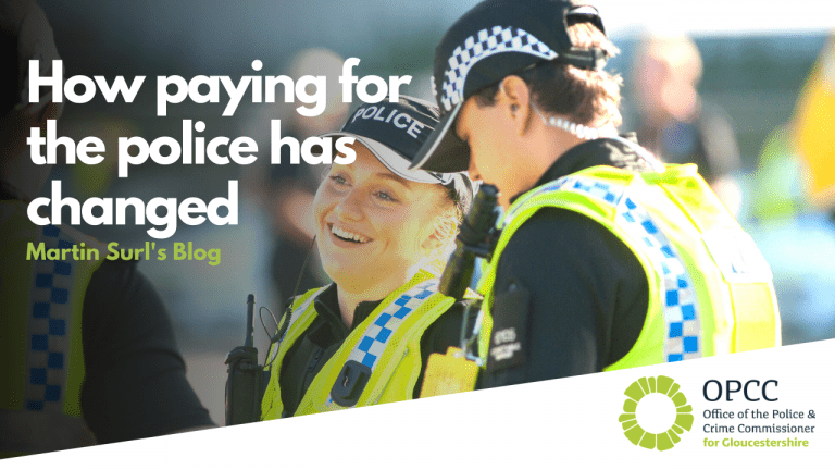 How paying for the police has changed