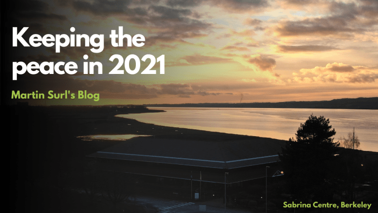 Keeping the peace in 2021 Martin Surl's blog