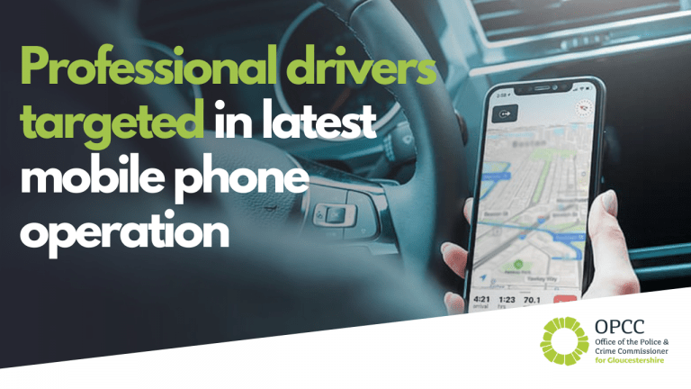 Professional drivers targeted in latest mobile phone campaign