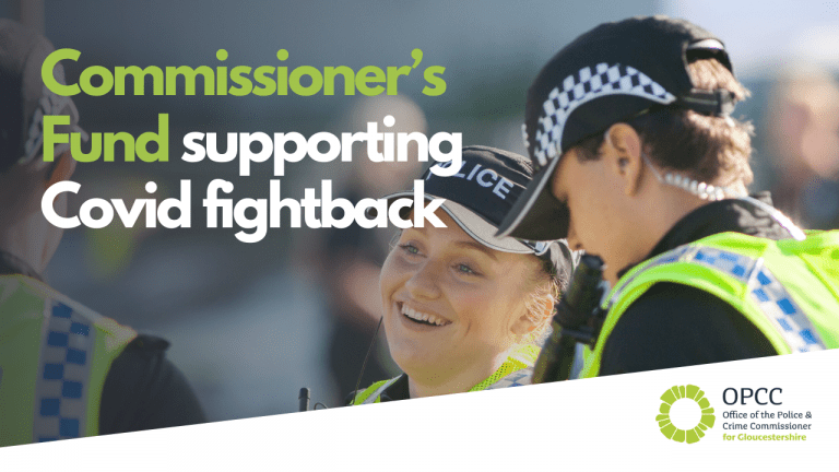 Commissioner's Fund supporting Covid fightback
