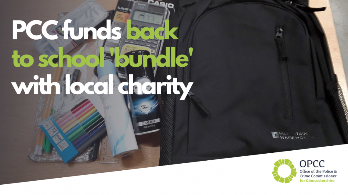 Glos Bundles back to school project