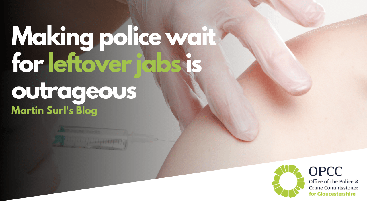 Making police wait for leftover jabs is outrageous
