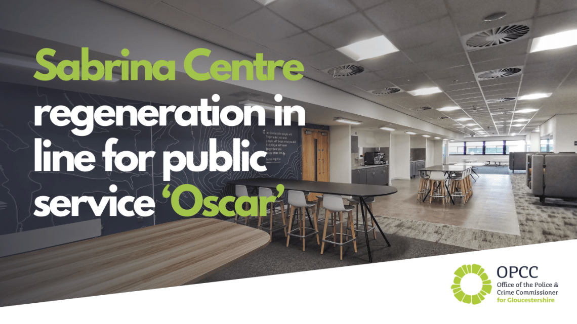Sabrina Centre in line for award
