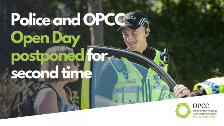 Police open day postponed