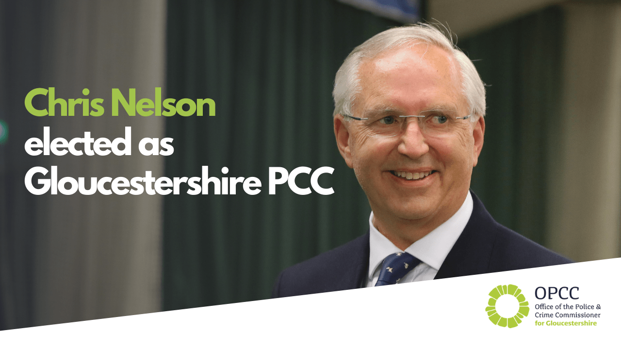 Christopher Nelson elected Gloucestershire Police and Crime Commissioner