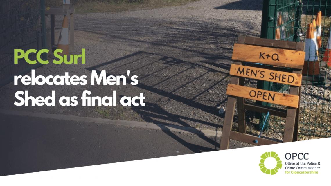 PCC surl relocates Men's Shed