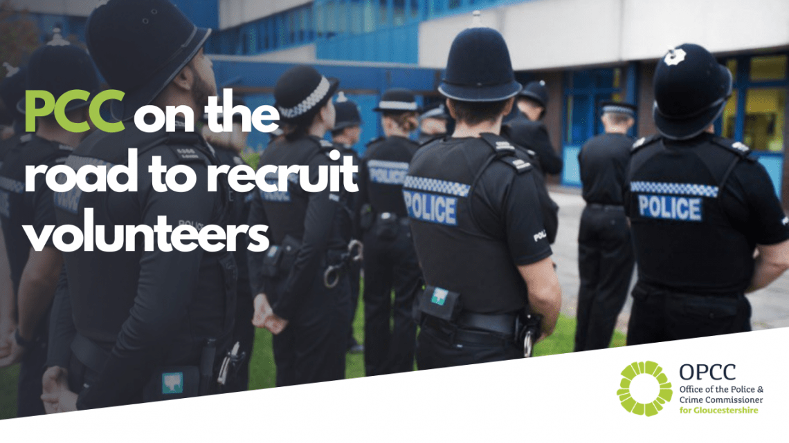 PCC on the road to recruit volunteers