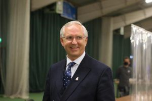 Chris Nelson PCC at 2021 election count