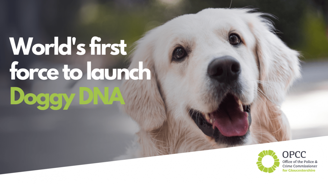 World's first force to launch Doggy DNA