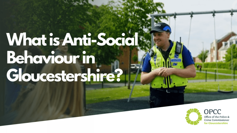 Antisocial behaviour in Gloucestershire