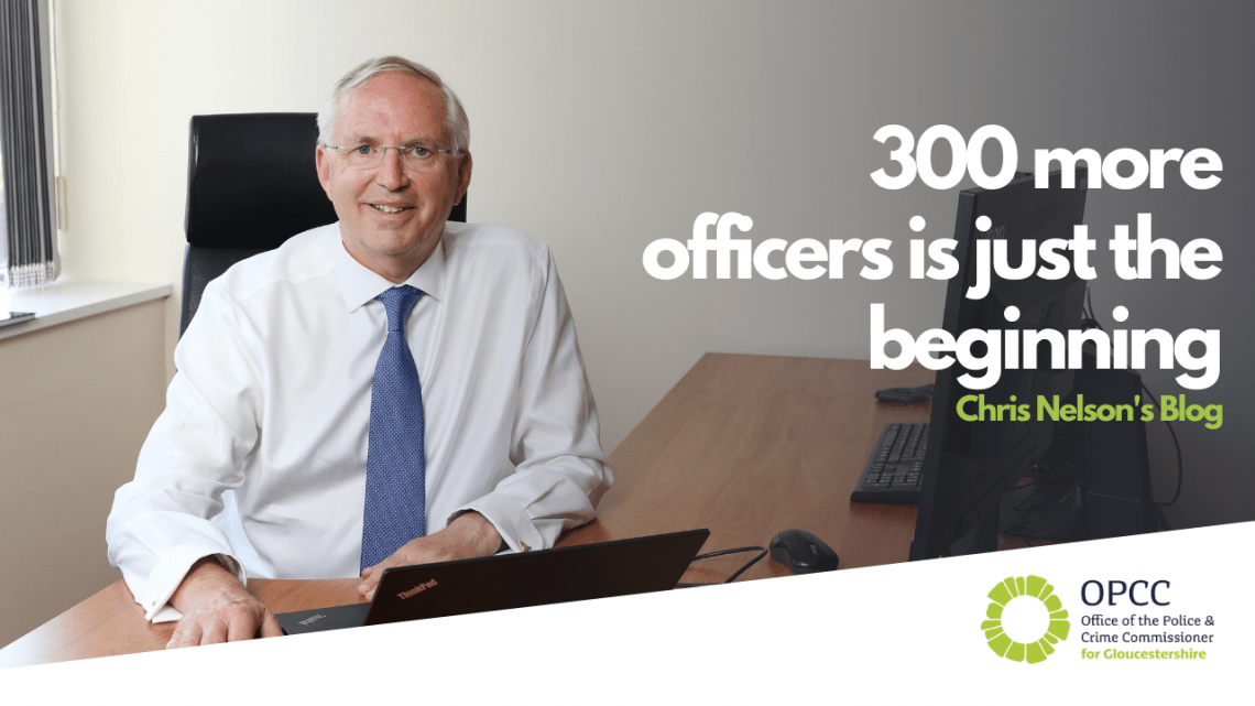 300 more officers is just the beginning