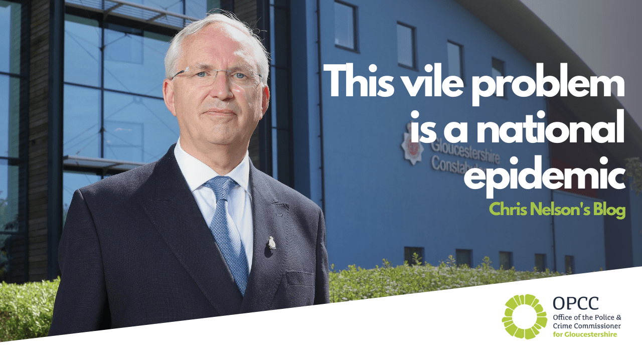 This vile problem is a national epidemic says pcc