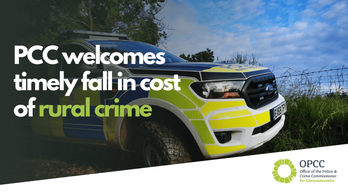 PCC welcomes timely fall in cost of rural crime